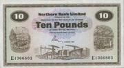 10 Pounds 01.3.1981 Nord-Irland P.189d unc/kassenfrisch  280,00 EUR  zzgl. 4,50 EUR Versand