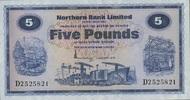 5 Pounds 01.1.1976 Nord-Irland P.188c unc/kassenfrisch  110,00 EUR  zzgl. 4,50 EUR Versand