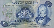 5 Pounds 01.12.1975 BANK OF SCOTLAND P.112c/1975 unc/kassenfrisch  120,00 EUR  zzgl. 4,50 EUR Versand