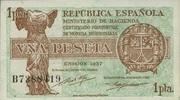 1 Pesete 1937 Spanien P.94 unc/kassenfrisch  20,00 EUR  zzgl. 3,95 EUR Versand