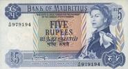 5 Rupees ND(1967) Mauritius P.30c unc/kassenfrisch  32,00 EUR  zzgl. 4,50 EUR Versand