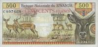 500 Francs 01.1.1978 Rwanda P.13a unc/kassenfrisch  80,00 EUR  zzgl. 4,50 EUR Versand