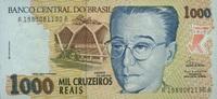 1.000 Cruzeiros Reais (1993) Brasilien P.240a unc/kassenfrisch  4,20 EUR  zzgl. 3,95 EUR Versand