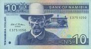 10 Namibia Dollars (1999) Namibia P.1a unc/kassenfrisch  11,00 EUR  zzgl. 3,95 EUR Versand