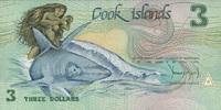 3 Dollars (1987) Cook-Insel P.3a unc/kassenfrisch  5,00 EUR  +  6,50 EUR shipping