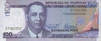 100 Piso 2000 Philippines P.184a unc/kassenfrisch  8,50 EUR  +  6,50 EUR shipping