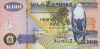100 Kwacha 2003 Zambia P.38d unc/kassenfrisch  1,00 EUR  zzgl. 3,95 EUR Versand
