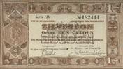 1 Gulden 01.10.1938 Niederlande P.61 1-  12,00 EUR  zzgl. 3,95 EUR Versand