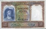 500 Pestas 25.4.1931 Spanien P.84 unc/kassenfrisch  115,00 EUR  +  6,50 EUR shipping