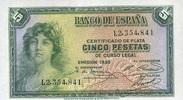 50 Pestas 1938 Spanien P.85a unc/kassenfrisch  12,00 EUR  +  6,50 EUR shipping