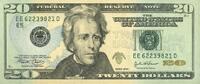 20 Dollars 2004 USA - Richmond - unc/kassenfrisch  32,00 EUR  +  6,50 EUR shipping