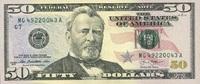 50 Dollars Serie 2013 USA - Chicago - unc/kassenfrisch  75,00 EUR  +  6,50 EUR shipping