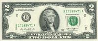 2 Dollars Serie 2013 USA - New York - unc/kassenfrisch  3,95 EUR  +  6,50 EUR shipping