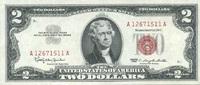 2 Dollars 1963 USA P.382a unc/kassenfrisch  26,00 EUR  +  6,50 EUR shipping