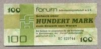 100 Mark 1979 DDR-Forum  als Beleg-Stück  9,00 EUR  zzgl. 3,95 EUR Versand