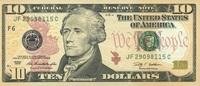 10 Dollars Serie 2009 USA - Atlanta - P.532-F unc/kassenfrisch  19,95 EUR  zzgl. 3,95 EUR Versand