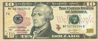 10 Dollars Serie 2013 USA - Atlanta - P.539-F unc/kassenfrisch  19,95 EUR  zzgl. 3,95 EUR Versand