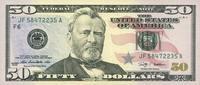 50 Dollars Serie 2009 USA - Atlanta - P.534-F unc/kassenfrisch  75,00 EUR  zzgl. 4,50 EUR Versand