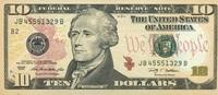 10 Dollars Serie 2009 USA - New York - P.532-B unc/kassenfrisch  19,95 EUR  zzgl. 3,95 EUR Versand