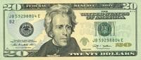 20 Dollars Serie 2009 USA - New York - P.533-B unc/kassenfrisch  32,00 EUR  zzgl. 4,50 EUR Versand