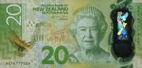 20 Dollars (20)16 Neuseeland - New Design - 2016- Polymer - unc/kassenf... 29,00 EUR  zzgl. 4,50 EUR Versand