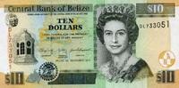 10 Dollars 01.1.2011 Belize P.68d/2011 unc/kassenfrisch  14,95 EUR  zzgl. 3,95 EUR Versand