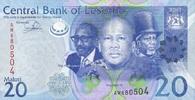 20 Maloti 2013 Lesotho P.22b/2013 unc/kassenfrisch  4,55 EUR  zzgl. 3,95 EUR Versand