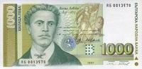 1.000 Leva 1997 Bulgarien P.105/1997 unc/kassenfrisch  4,00 EUR  zzgl. 3,95 EUR Versand