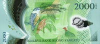 2.000 Vatu (20)14 Vanuatu - New Design - 2014- Polymer - unc/kassenfrisch  38,50 EUR  zzgl. 4,50 EUR Versand