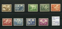 9 Werte 1933 Deutsches Reich(1933/1934) - 1.Nov.Deutsche Nothilfe-Darst... 445,00 EUR  zzgl. 4,50 EUR Versand