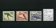 3 Werte 1935 Deutsches Reich(1935) - 25.Nov.4.Olympische Winterspiele i... 17,95 EUR  zzgl. 3,95 EUR Versand
