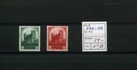 2 Werte 1934 Deutsches Reich(1934/1935) - 1.Sept.6.Nürnberger Partietag... 24,00 EUR  zzgl. 4,50 EUR Versand