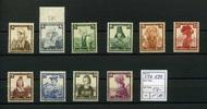 10 Werte 1935 Deutsches Reich(1935) - 4.Okt.Deutsche Nothilfe-Volkstrac... 52,00 EUR  zzgl. 4,50 EUR Versand