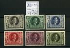 6 Werte 1943 Deutsches Reich(1943) - 13.April.54.Geburtstag von Adolf H... 4,00 EUR  zzgl. 3,95 EUR Versand