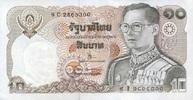10 Baht (1980) THAILAND P.87 unc/kassenfrisch  1,20 EUR  +  6,50 EUR shipping