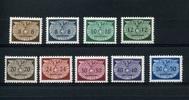 9 Werte 1940 GENERALGOUVERNEMET - kleines Format - postfrisch  6,95 EUR  +  6,50 EUR shipping