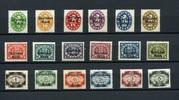 18 Werte 1920 ALTDEUTSCHLAND- (Bayern-Dienstmarken) -Anf. März. Dienstm... 27,00 EUR  zzgl. 4,50 EUR Versand
