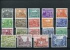 19 Werte 1949 Berlin ( West )(1949) - 21. März.  / 25. Okt. Freimarken:... 198,00 EUR  +  6,50 EUR shipping