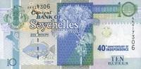 10 Rupees (2013)2016 Seychellen - 40 th ANNIVERSARY OF INDEPENDENCE - u... 17,00 EUR  +  6,50 EUR shipping