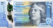 5 Pounds 11.2.2016 Scotland - New Design - 2016- Polymer - The Royal Ba... 16,00 EUR  +  6,50 EUR shipping