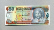 50 Dollars ND(2000) Barbados - Portrait Prime Minister E.W.Barrow - unc... 90,00 EUR  +  6,50 EUR shipping