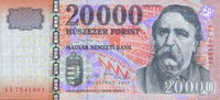 20.000 Forint 2009 Ungarn Pick 193 unc  129,00 EUR