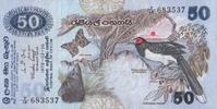 50 Rupees  Sri-Lanka P.87 unc  93,00 EUR  zzgl. 4,50 EUR Versand