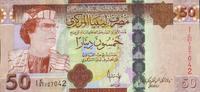 50 Dinars 2008 Libyen Pick 75 unc  63,00 EUR