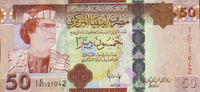 50 Dinars 2008 Libyen Pick 75 unc  63,00 EUR  zzgl. 4,50 EUR Versand