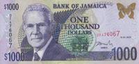 1.000 Dollars  Jamaica Pick 86a unc/kassenfrisch  27,00 EUR  zzgl. 4,50 EUR Versand