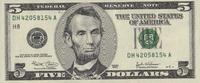 5 Dollars  USA - St.Louis - unc/kassenfrisch  12,00 EUR  +  6,50 EUR shipping