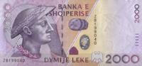 2.000 Leke 2007 Albanien Pick 74 unc/kassenfrisch  31,00 EUR  zzgl. 4,50 EUR Versand