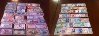 Banknoten aus aller Welt  unc  65,00 EUR  zzgl. 4,50 EUR Versand