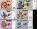 1-50 Cent + 1 Franc 01.1.1997 Congo Demo.Republik Specimen  unc/kassenf... 120,00 EUR